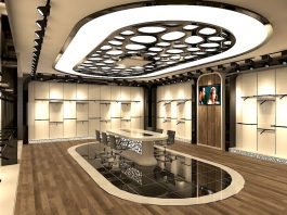 Mağaza Tavan Dekorasyon