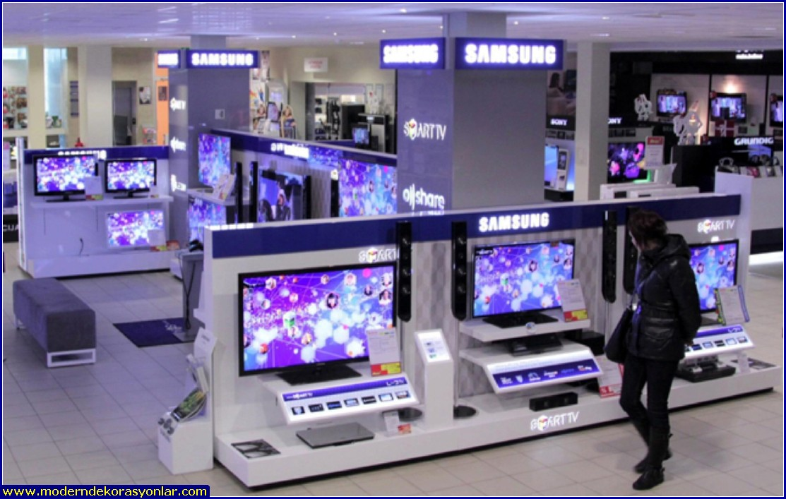 elektronik mağazası dekorasyon 1