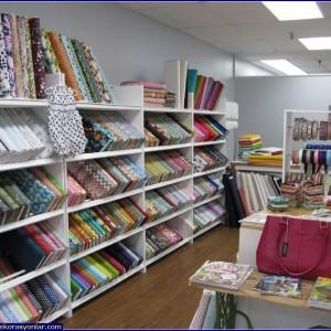 ev tekstil mağazası dekorasyonu 4