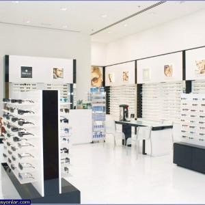 gözlük mağazası dekorasyon 3