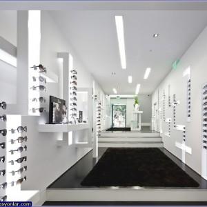gözlük mağazası dekorasyonu 3