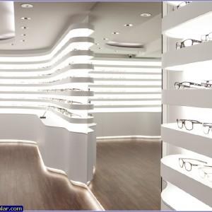 gözlük mağazası dekorasyonu