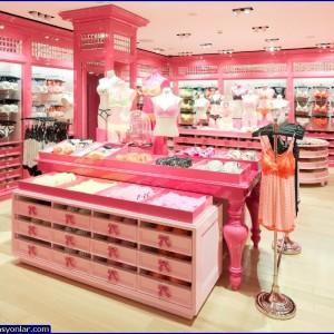iç giyim mağazası dekorasyon 4
