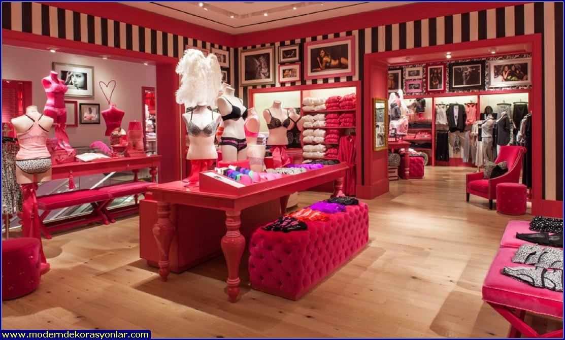 iç giyim mağazası dekorasyonu 4