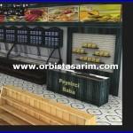 istanbul gurme magaza dekorasyon firması