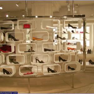 ayakkabı mağaza tasarımı