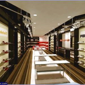 ayakkabı mağazası dekorasyon 1