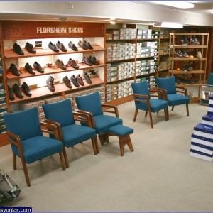 ayakkabı mağazası dekorasyon 2