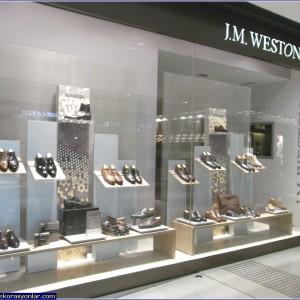 ayakkabı mağazası dizaynı