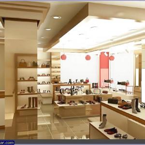 ayakkabı mağazası tasarımı