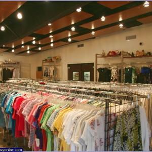 giyim mağazası dekorasyonu 2