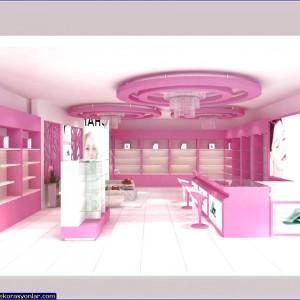 kozmetik mağaza dekorasyon