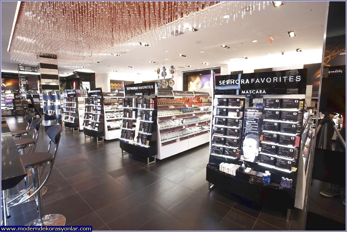kozmetik mağaza dekorasyonu yapan yerler