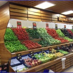 market manav dekorasyonu