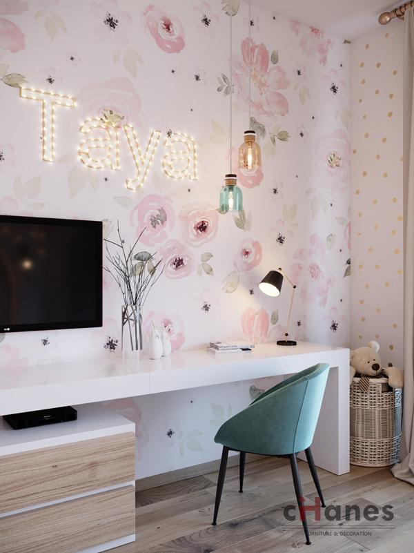 Çocuk Odası İçin Dekorasyon Örneği 2