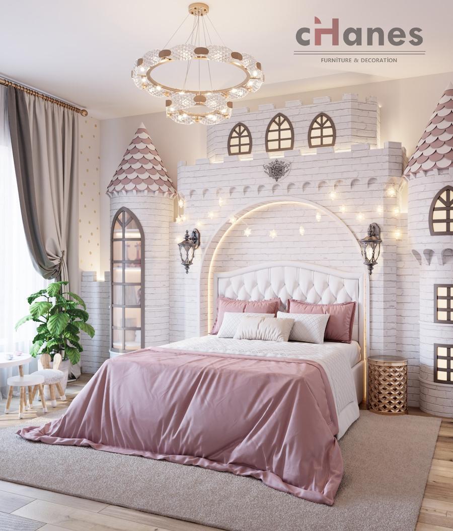 Çocuk Odası İçin Dekorasyon Örneği