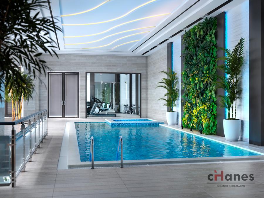 Havuz Dekorasyon Örneği