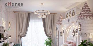 Kız Çocuk Odası İçin Dekorasyon Örneği