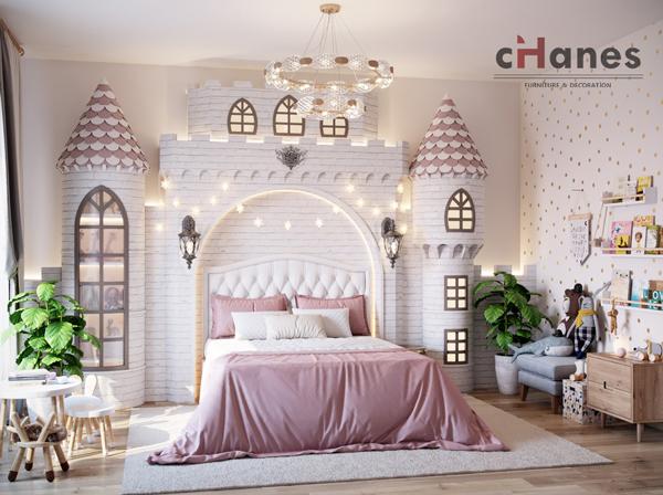 Kız Çocuk Odası İçin Dekorasyon