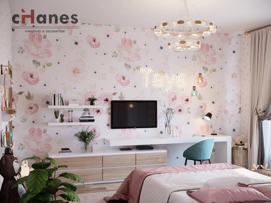 Kız Çocuk Odası İçin Dekorasyonu