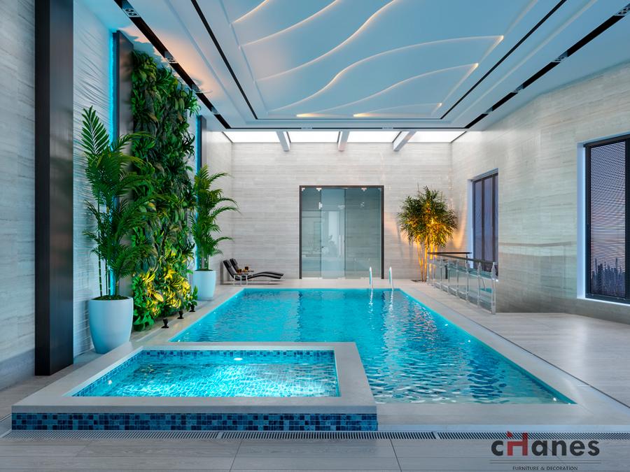 en yeni Havuz Dekorasyon Örneği