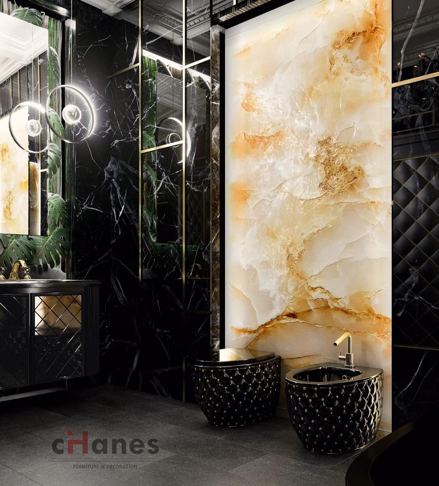istanbul siyah banyo dekorasyon firması